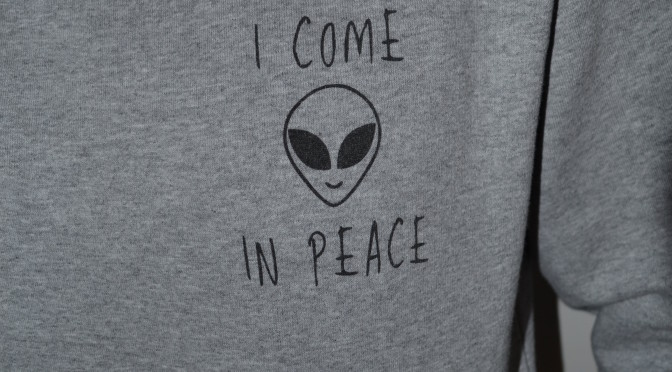 New In|I come in peace
