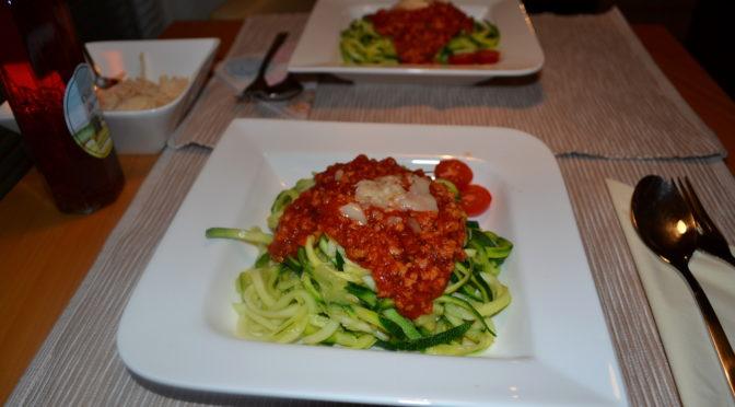 Rezept | Zucchini-Spaghetti