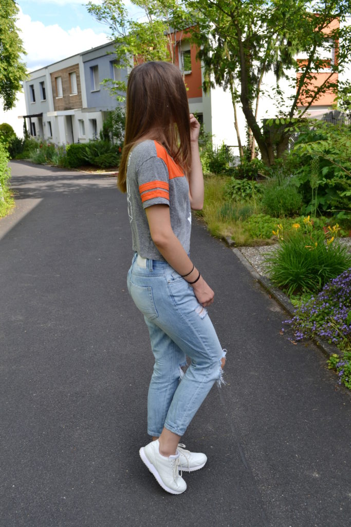 Lässiges Outfit