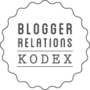 Blogger Relations Kodex